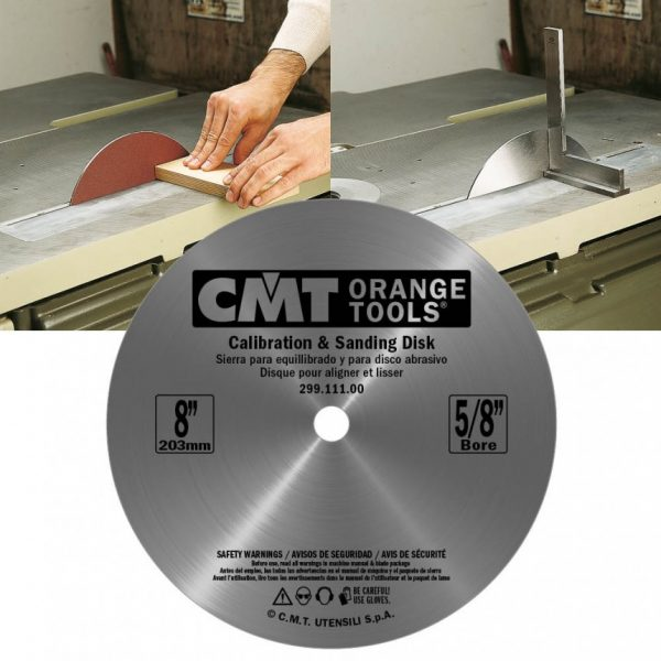 Calibration & sanding disks CMT SERIES:299.112.00M